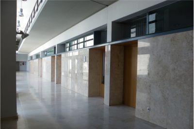 Pasillo Aulario CET Sevilla